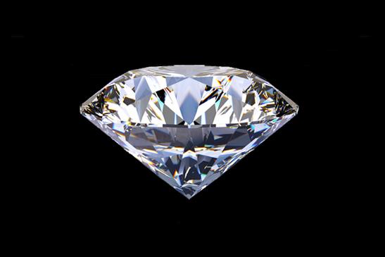 記念日にダイヤモンドを