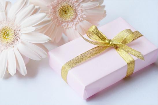花とプレゼント