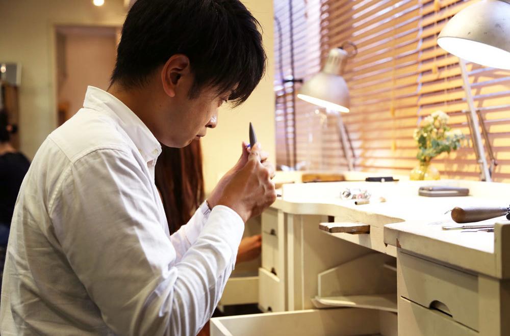 澤田様ご夫婦の 手作り結婚指輪
