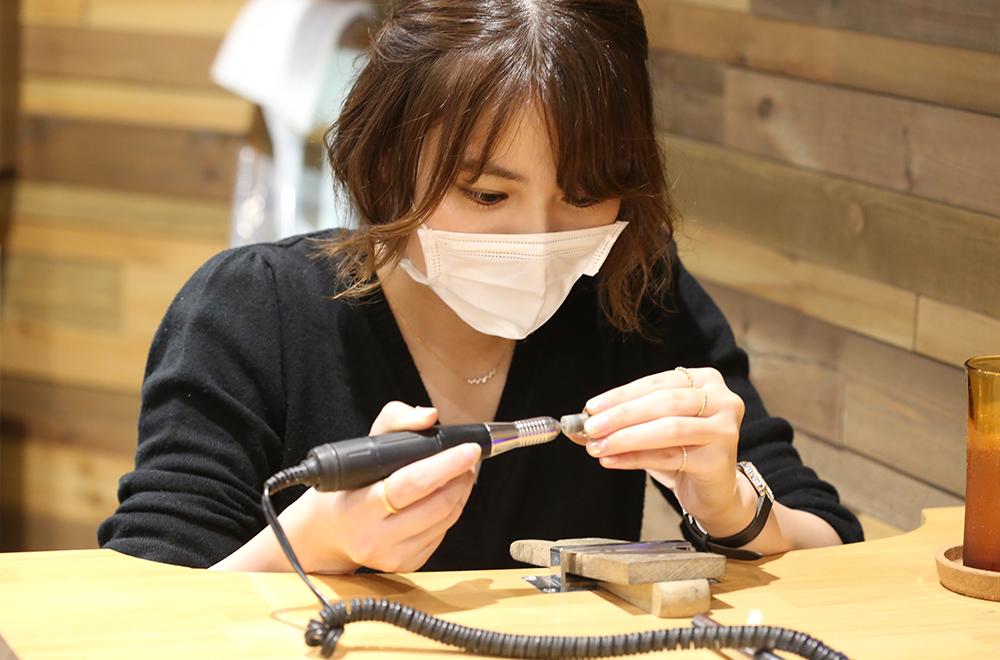 瀧澤様ご夫婦の 手作り結婚指輪